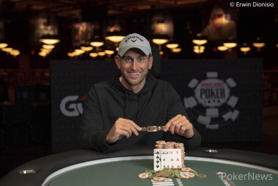Connor Drinan Wins Second Bracelet in Event #5: $1,500 Omaha Hi/Lo 8 or Better