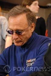 Lee Nelson, playing in the £5,000 PLO event