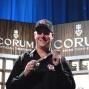 Eric Lindgren shows his first WSOP bracelet