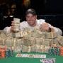 Michael Banducci, winner of mixed hold'em championship