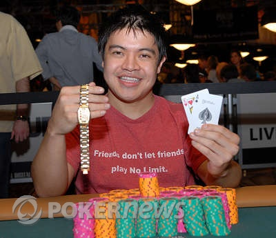 Anthony Rivera, Winner 2008 WSOP Event #8