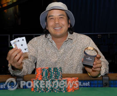 Matt Keikoan, winner 2008 WSOP event #7