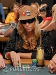 Vanessa Rousso and her trademark cap