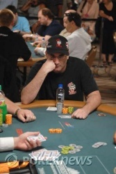 Mike Matusow holds down second spot entering Day 2 play