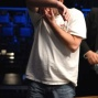 Mike Matusow shows some emotions moments after winning