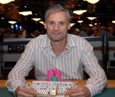 Eric Brooks, winner 2008 WSOP $10,000 Seven-Card Stud World Championship