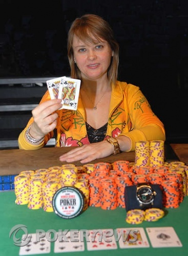 Svetlana Gromenkova, 2008 WSOP Women's World Champion