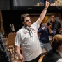 Max Pescatori moments after winning