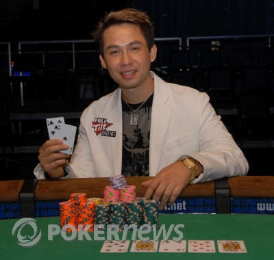 Kenny Tran, $10,000 Heads Up No-Limit Hold'em 2008 World Champion