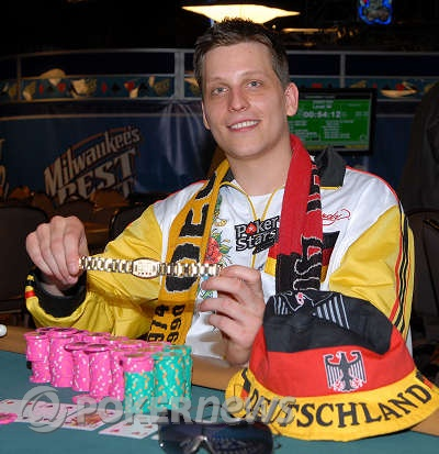 Sebastian Ruthenber $5,000 Seven Card Stud Hi-Low World Champion