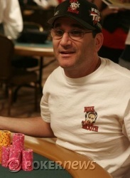 Mike Matusow is one of those hoping to reel in chip leader Erick Lindgren
