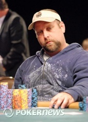 Frank Vizza heads the pack going into Day 2