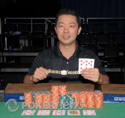 David Woo, 2008 WSOP $1,500 No-Limit Hold'em Champion