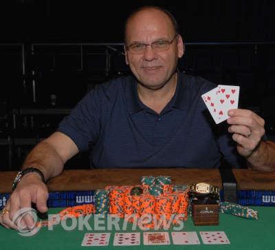 Dan Lacourse, 2008 WSOP $1,000 Seniors No-Limit Hold'em World Champion