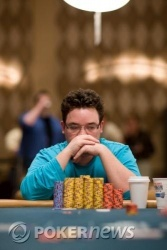 Nuovo chip leader, Joe Commisso