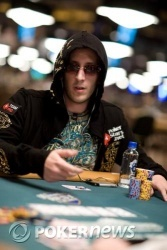 Bertrand Grospellier finished Day 1 in the top ten in chips