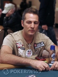 Marco Traniello will try to reel in chip leader Ben Tang on Day 2