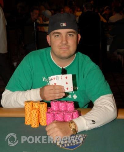 Ryan Hughes, 2008 WSOP $1,500 Seven Card Stud Hi/Low Champion