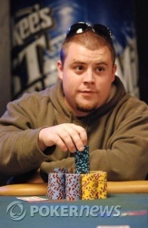 Chip leader Eric Crain