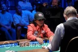 Chip leader, Scotty Nguyen