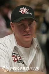 Chip leader Erick Lindgren