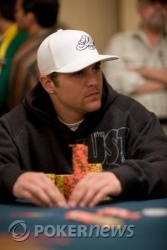 Marco Johnson comes to the final table with the chip lead