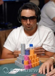 Josh Arieh enjoys the overnight lead after a solid Day 1