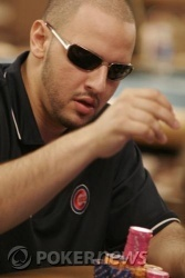 Chip leader Michael Mizrachi