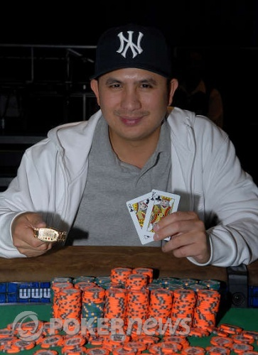 JC Tran, 2008 WSOP $1,500 No Limit Hold'em Champion