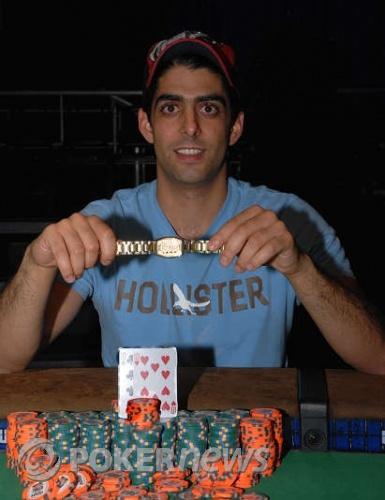 David Daneshgar, 2008 WSOP $1,500 No Limit Hold'em Champion