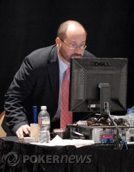 Tournament Supervisor Steve Frezar