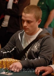 Chip leader Corwin Cole