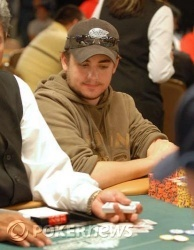 Day 3 chip leader Jeremy Joseph