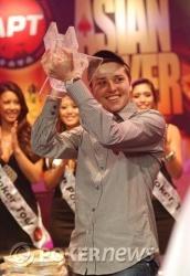 Yevgeniy Timoshenko - Champion of 2008 APT Macau