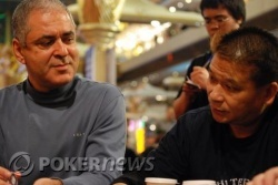 Mansour Matloubi and Johnny Chan