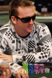 Sam Jessop is currently the chip leader.