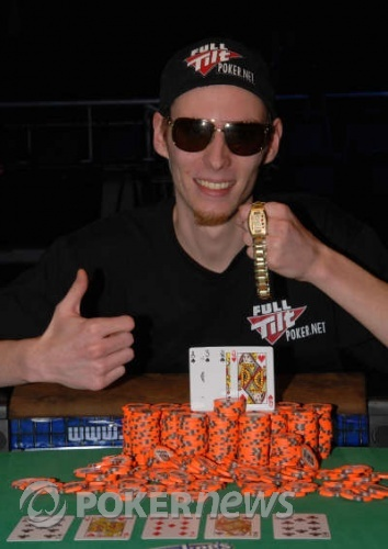 Martin Klaser 2008 WSOP $1,500 Pot Limit Omaha Hi/Lo Champion