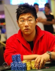 Diwei Huang - Final Table Chip Leader
