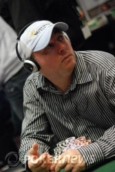 Jason Gray will take a huge chip lead into Day 2