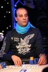 Salvatore Bonavena - chip leader