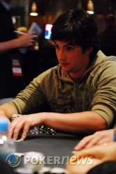 Overnight Chip Leader, David Griffiths