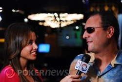 Harry Demetriou Catching Up With PokerNews