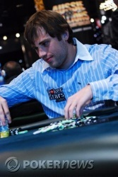 Ivan Demidov is well placed in the Top 10 chip counts