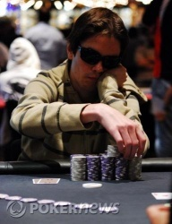 Day One Chip Leader James 'Andy McLEOD' Obst