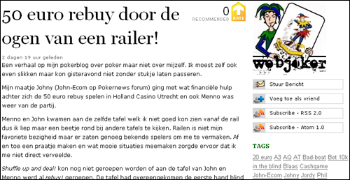 De Week van PokerNews 102