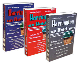 Dan Harrington en Bill Robertie – Harrington on Hold 'em 101