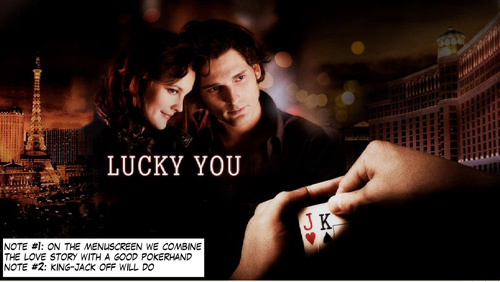 PokerNews Comic - Lucky-You! 101