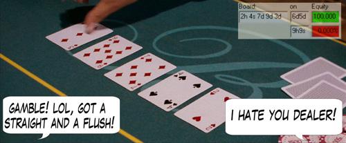 PokerNews Comic - Lucky-You! 109
