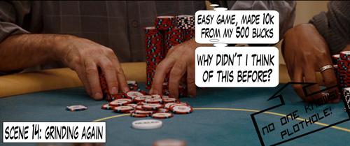 PokerNews Comic - Lucky-You! 126