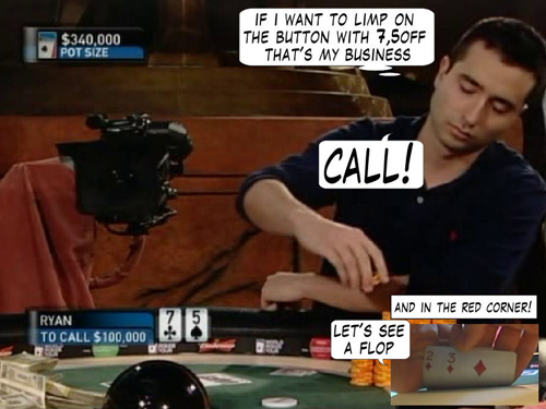 Poker Comic - Boxing Day 113